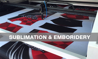 sublimation & screen printing